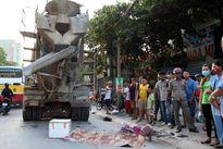 Hà Nội: Xe tải chở ximăng cán tử vong bé gái 13 tuổi trên đường 70