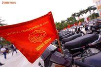 Hơn 400 xe Honda Dream II lăn bánh tại Ninh Bình