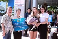 Thí sinh Hoa hậu Bản sắc Việt đổ bộ Quy Nhơn trước thềm bán kết