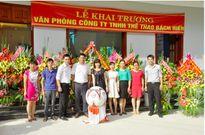 Khai trương văn phòng công ty TNHH thể thao Bách Hiền