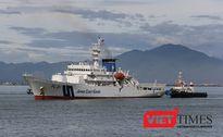 Cận cảnh tàu Cảnh sát biển Nhật Bản ở thăm Đà Nẵng