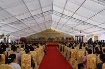 Lào Cai: Hàng nghìn người dự lễ rót đồng tượng Quan Thế Âm Bồ Tát trên đỉnh FANSIPAN