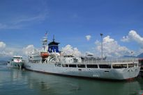 Cảnh sát biển Việt Nam được mời tham quan tàu huấn luyện Kojima