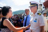Tàu huấn luyện lực lượng phòng vệ Nhật Bản thăm Đà Nẵng