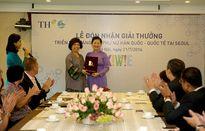 Triển lãm sáng tạo Phụ nữ Hàn Quốc – Quốc tế: Tập đoàn TH đón nhận giải đặc biệt, giải vàng