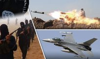 IS tuyên bố bắn rơi chiến đấu cơ Mỹ