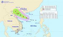 Vùng biển phía Bắc quần đảo Hoàng Sa gió giật cấp 10-11