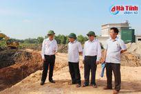 Đẩy nhanh tiến độ Dự án xây dựng đô thị loại II - TP Hà Tĩnh