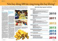 """Hành trình chống """"vàng hóa"""" của Việt Nam"""