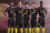 Man City 'chơi trội' khi ra mắt áo đấu trên Vạn Lý Trường Thành