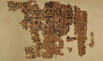 Tấm giấy cói 4.500 tuổi mô tả việc xây dựng kim tự tháp Ai Cập