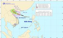 Cơn bão số 1 đang hướng về phía các tỉnh Thái Bình, Nam Định
