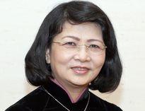 Bà Đặng Thị Ngọc Thịnh được bầu làm Phó Chủ tịch nước với tỉ lệ 96,76%