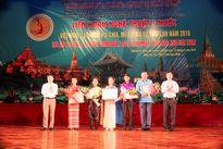 Bế mạc liên hoan nghệ thuật 5 nước Việt Nam, Lào, Campuchia, Myanma và Thái Lan năm 2016