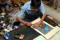 Lan tỏa tình yêu với nghệ thuật tranh dân gian truyền thống