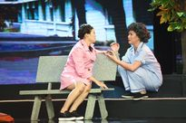 Việt Hương rớt nước mắt vì sự mạo hiểm của thí sinh