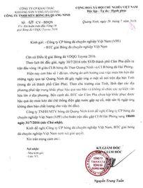 Đổi ngày thi đấu trận Quảng Ninh vs Hải Phòng vì bão số 1