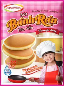 Tự làm pancake thơm ngon với bột bánh rán pha sẵn