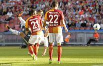 Chi tiết MU – Galatasaray: Mata góp vui (KT)