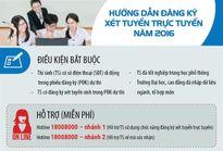 Hướng dẫn mới đăng ký xét tuyển đại học trực tuyến