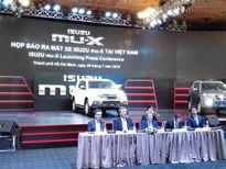 Isuzu MU-X trình làng, giá 899 triệu đồng tại Việt Nam