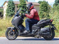 Scooter phân khối lớn Yamaha Xmax 2017 lộ ảnh thử nghiệm
