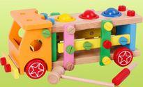 Tin tức ATTP ngày 3/8: Đồ chơi bằng gỗ phủ màu độc hại
