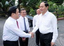 """Chủ tịch nước Trần Đại Quang: Đề cao tinh thần """"Thượng tôn pháp luật"""""""