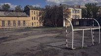 """""""Đột nhập"""" ngôi trường sát chiến tuyến ở Ukraine"""
