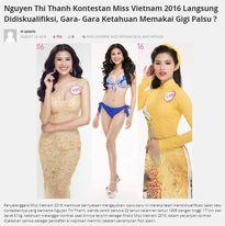 Thí sinh bị loại ở HH Việt Nam gây ồn ào trên báo nước ngoài