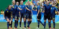 Thụy Điển và Đức giành vé vào chung kết bóng đá nữ Olympic