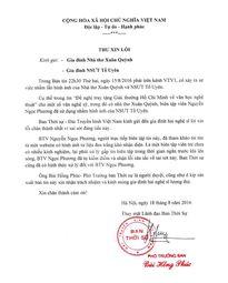 VTV gửi thư xin lỗi vì nhầm nhà thơ Xuân Quỳnh với NSƯT Tố Uyên