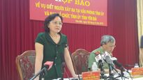 Yên Bái: Khởi tố vụ án dùng súng bắn chết Bí thư Tỉnh ủy và Trưởng ban Tổ chức