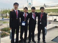 Việt Nam đoạt 4 huy chương Olympic Tin học quốc tế