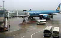 Vietnam Airlines và VietJet hủy nhiều chuyến bay do Bão số 3