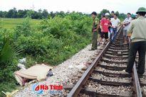 Va vào tàu hỏa, nam thanh niên tử vong tại chỗ