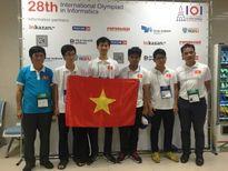 Giành 2 huy chương vàng Olympic Tin học quốc tế, Việt Nam đạt kết quả tốt nhất 16 năm qua
