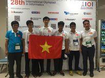 Việt Nam giành 2 huy chương vàng tin học quốc tế