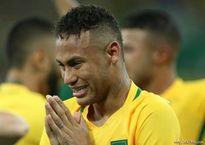 Neymar khóc tu tu sau khi giúp Brazil vô địch Olympic