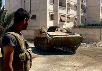 Mục kích cuộc tấn công phiến quân của Quân đội Syria