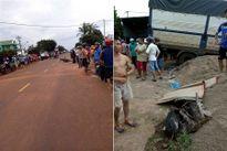 Gia Lai: Xe tải đâm liên tiếp xe máy và người đi đường, 6 người thương vong