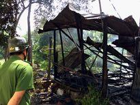 An Giang: Bà lão vừa được xét thoát nghèo thì nhà cháy rụi