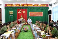 Thứ trưởng Phạm Dũng làm việc với Công an tỉnh Long An