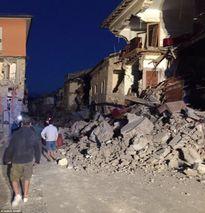 Nhiều thị trấn Italia biến mất sau động đất