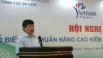TCDL tổ chức phổ biến, tập huấn thống kê du lịch tại Kiên Giang