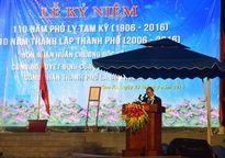 Quảng Nam: Thủ tướng trao Huân chương Độc lập hạng Ba cho TP.Tam Kỳ