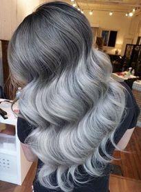 Ombre xám khói – màu tóc của mùa thu 2016