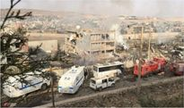 Thổ Nhĩ Kỳ: Đánh bom đồn cảnh sát, hơn 70 người thương vong