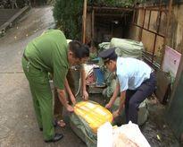 Lạng Sơn: Thu giữ lô nầm lợn, trứng 'lạ' từ Trung Quốc