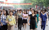 Hà Nội mở phố đi bộ cuối tuần quanh hồ Gươm từ 1/9 tới